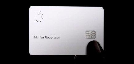 Apple Card: Dezente Kreditkarte mit großer Agenda
