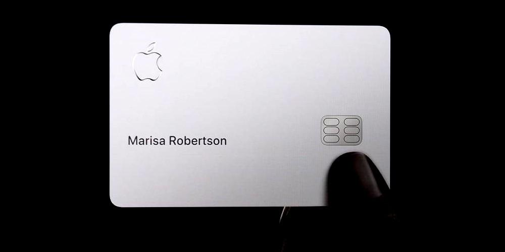 Das ist das Design der neuen Apple Card