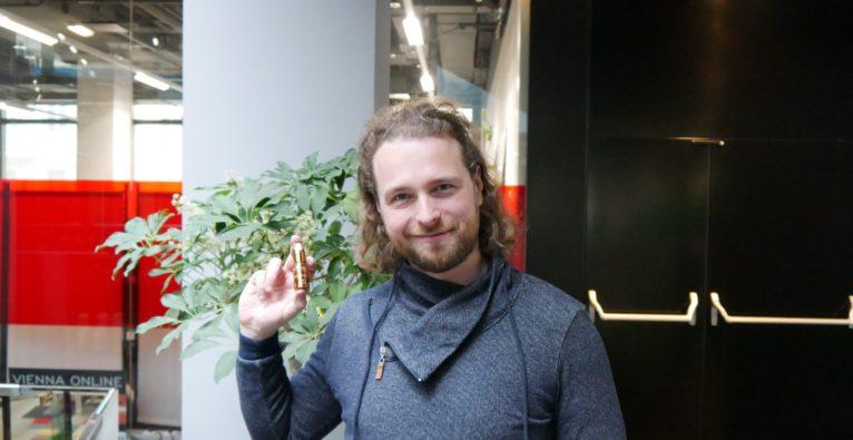 Christoph Richter nutzt Blattgold-'Zwangspause