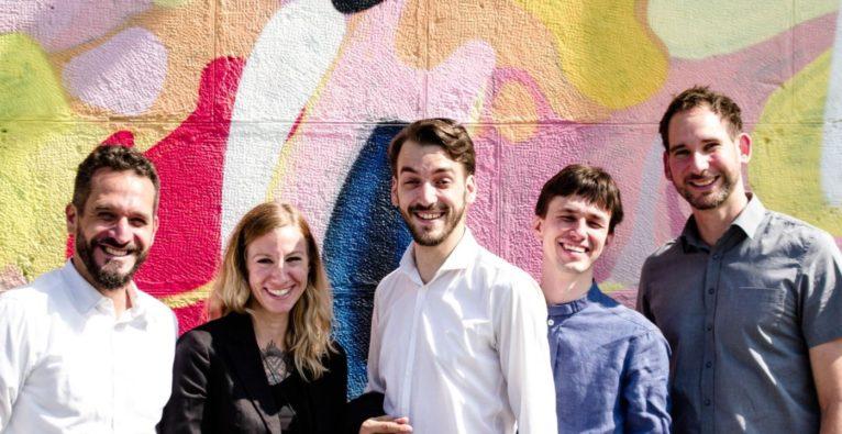 ESG+: Das Team rund um Gründer Armand Colard (ganz links) arbeitet an der Plattform Cleanvest
