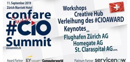 8. Confare Swiss CIO & IT-Manager Summit 2019 | Swiss #CIOAWARD 2019