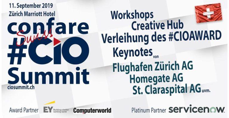 8. Confare Swiss CIO & IT-Manager Summit 2019