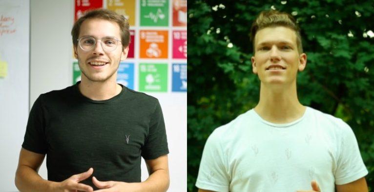 Kern Tec: Die Co-Founder Luca Fichtinger und Michael Beitl