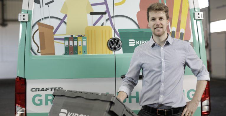 Kibox: Co-Founder und Geschäftsführer Martin Wild