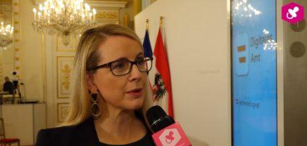 """Q&A mit Bundesministerin Margarete Schramböck zum Launch der App """"Digitales Amt"""""""
