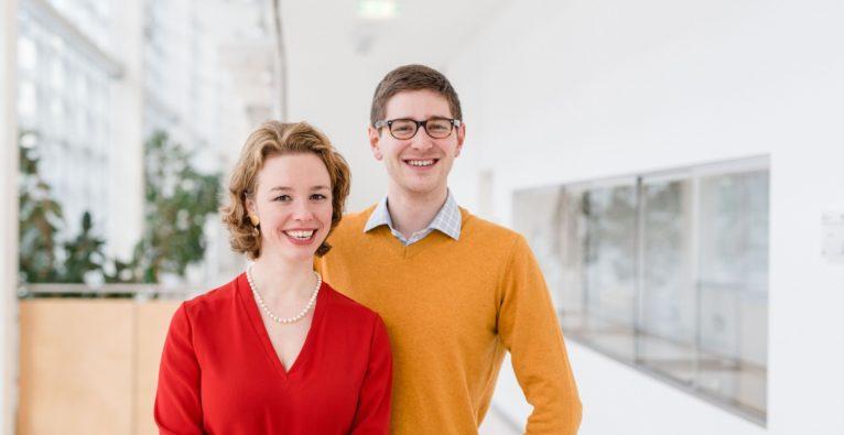 Das myBioma Founder-Duo Barbara Sladek und Nikolaus Gasche