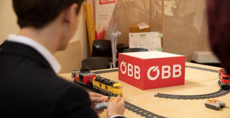 Impression vom ÖBB Blockchain Hackathon