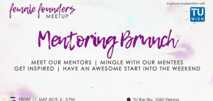 Female Founders | Mentoring Get-Together Brunch