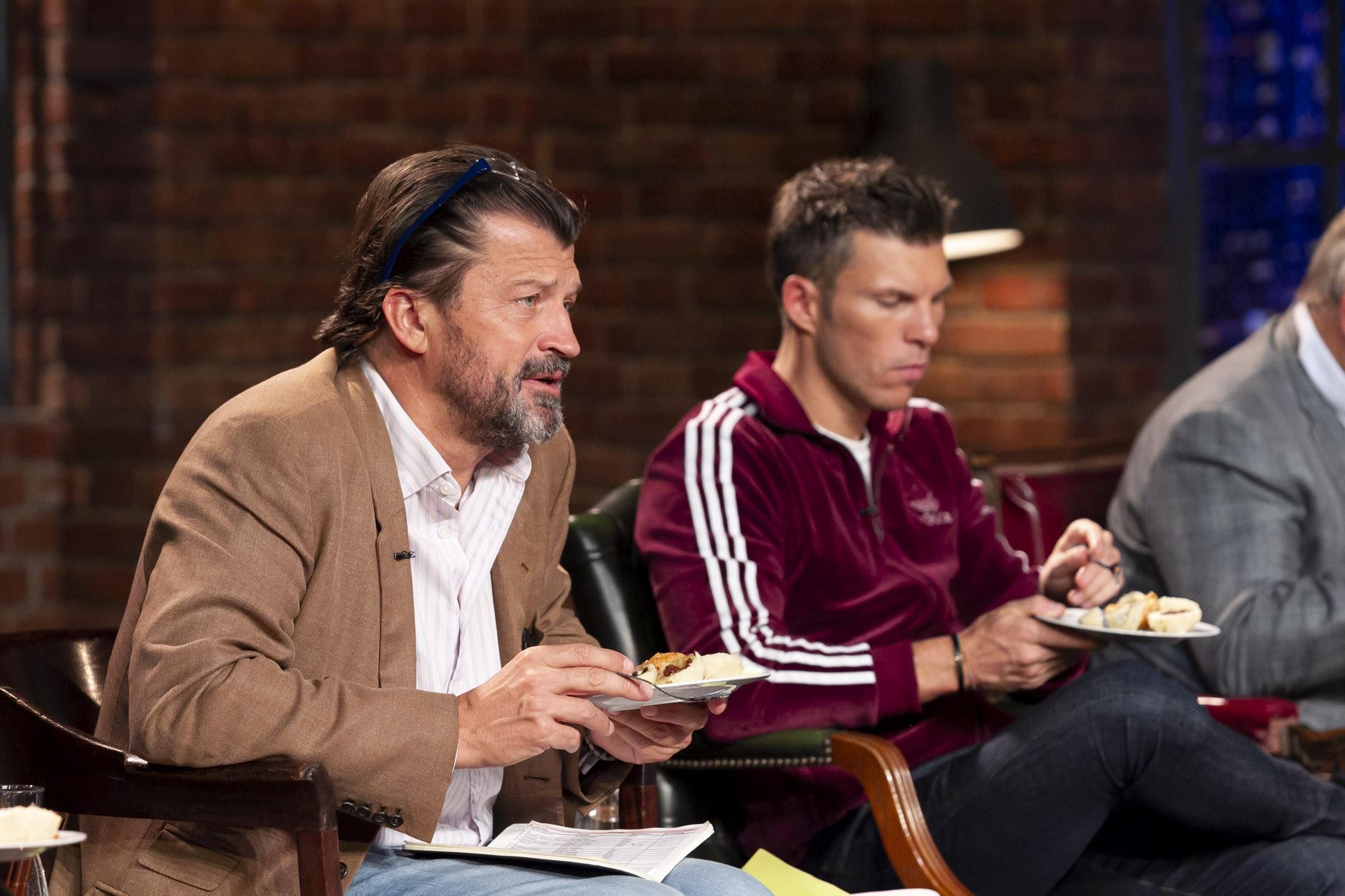 """2 Minuten 2 Millionen"", Martin Rohla, Katharina Schneider, Leo Hilinger, Hans Peter Haselsteiner, Florian Gschwandtner"