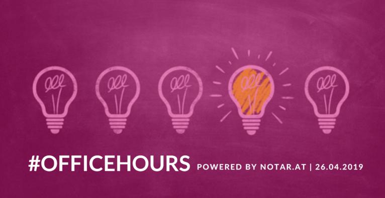 brutkasten #officehours: Kostenfreie Beratung vom Notar