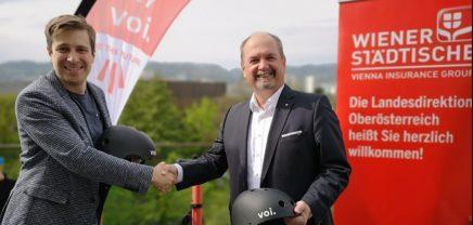 E-Scooter-Anbieter Voi startet Österreich-Rollout in Linz