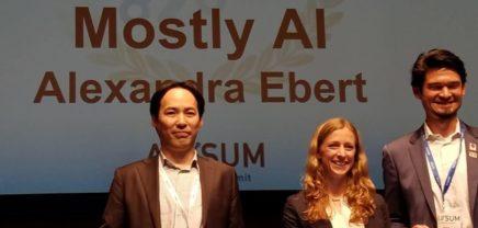 Big in Japan: Wiener Startup mostly.AI gewinnt Pitching-Wettbewerb in Tokio