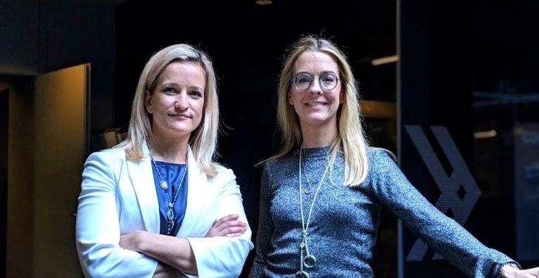 Laura Sperlich und Claudia Oeking von Philip Morris