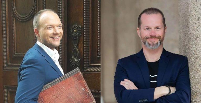 MINTED / startup300: Michael Raab und Bernhard Lehner