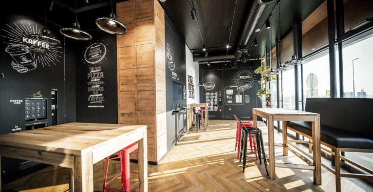 BistroBox: Der neue Flagship-Store an der A7