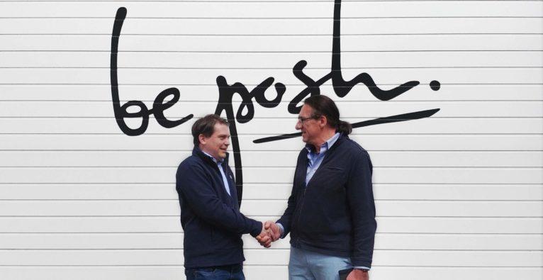 BePosh-Gründer Mark Wappler und nikoBlue-Gründer Franz Seba