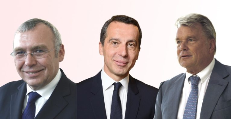 Blue Minds Holding - Alfred Gusenbauer, Christian Kern, Hans Peter Haselsteiner