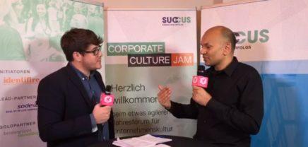 Corporate Culture Jam: Interview mit den Organisatoren