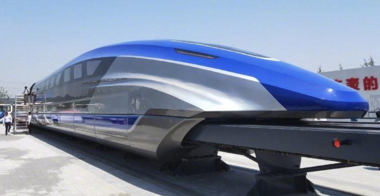 China: Magnetschwebebahn - Hochgeschwindigkeitszüge - Hyperloop