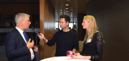 Interview vom Darwin's Circle Health Kick-Off Event
