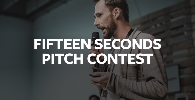 Apply here for your pitch at the Fifteen Seconds Festival!