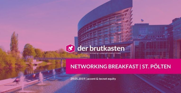 Networking Breakfast | ST. PÖLTEN hosted by der brutkasten & SVEA