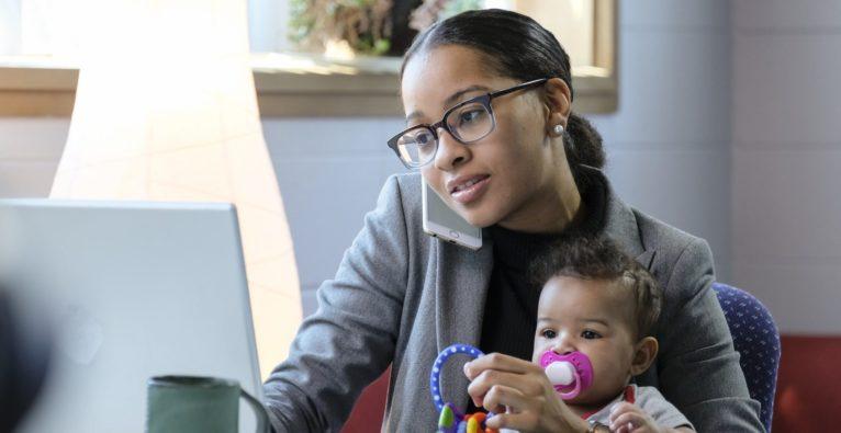 Studie: Mompreneure - Unternehmerinnen mit Kindern