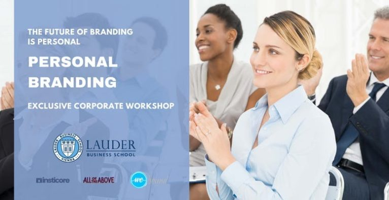 Lauder Business School & AotA presents: Personal Branding