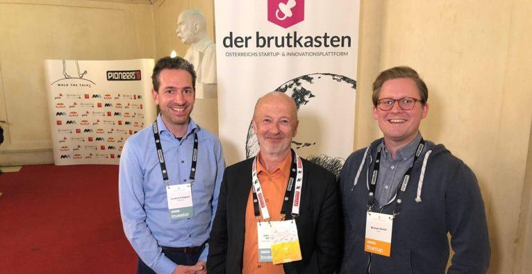 Lucanus Polagnioli, Hansi Hansmann und Michael Ströck - Pioneers Ventures III und Digital Health-Fonds