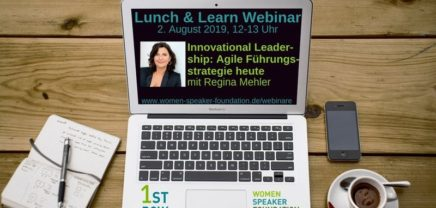 "Live-Webinar ""Innovational Leadership"" mit Regina Mehler"