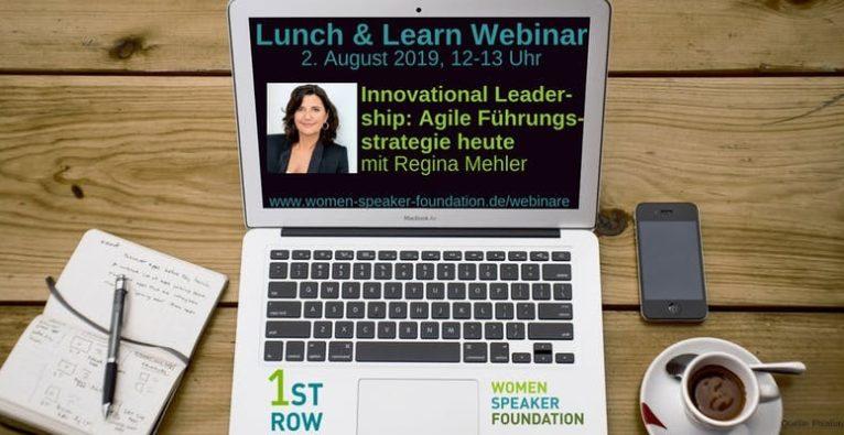 Live Webinar mit Regina Mehler
