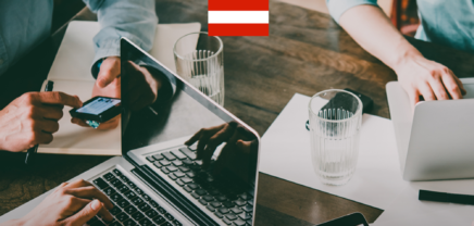 Social Media Ranking österreichischer Startups im April