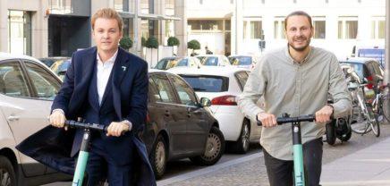 Formel 1-Star Rosberg kauft 0,07 Prozent von Berliner E-Scooter-Startup