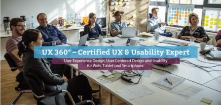 UX 360° – Certified UX & Usability Expert