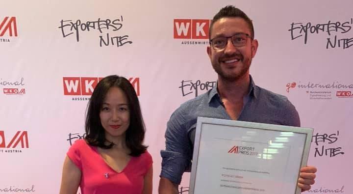 Gewinner des Exportpreis 2019: Startup aus Wien holt zweiten Platz