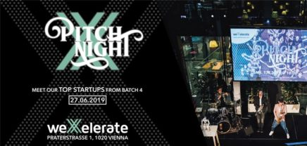 Pitch Night Batch 4 by weXelerate