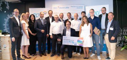 "apti-Award: iDWELL zum ""innovativsten PropTech Startup 2019"" gewählt"