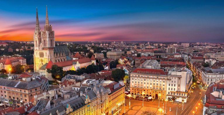 Zagreb, Hauptstadt von Kroatien