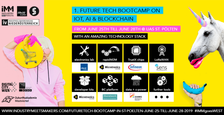 1st Future Tech Bootcamp on Blockchain, IoT & AI by Industry meets Makers