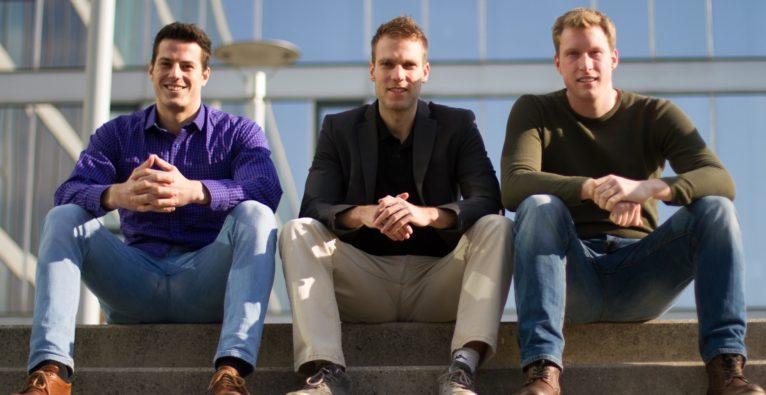 Chatvisor Gründer Markus Wagner, Horst-Georg Fuchs und Mathias Holzinger