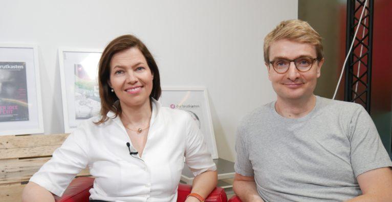 Zurich Österreich CEO Andrea Stürmer und Finabro Founder & CEO Søren Obling