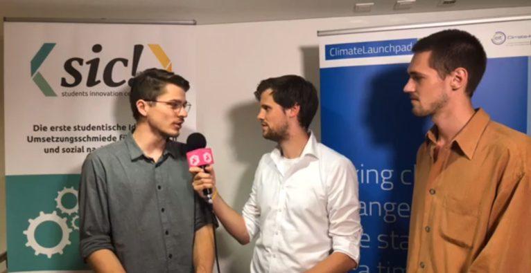 Interview vom Finale des ClimateLaunchpad Austria
