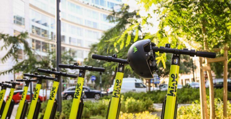 hive - E-Roller-Kooperation mit Wiener Linien