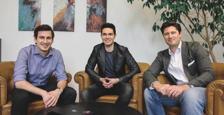 Teamazing-Gründer Paul Stanzenberger, Joinpoints-Gründer Jakob Deimbacher und Situlus Holding-Gründer Maximilian Seidel