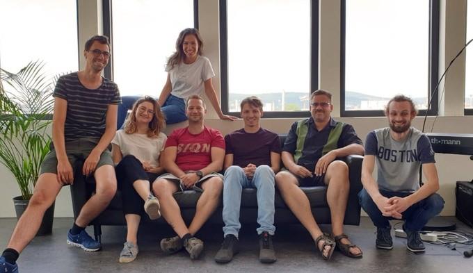 mikme: Das Team mit Founder Philipp Sonnleitner links