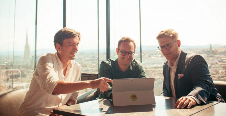 Storebox: Die Co-Founder v.l.n.r.: Ferdi Dietrich, Christoph Sandraschitz, Johannes Braith