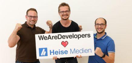 Jobs und Content für Developer: Heise investiert in HR-Startup WeAreDevelopers