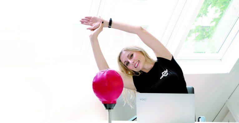 Boss Fitness, App, Sylvia Oberauer, Büro, HR, Fitness