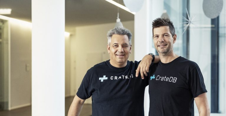Christian Lutz und Jodok Batlogg ziehen mit ihrem Unternehmen Crate.io bei weXelerate in Dornbirn ein