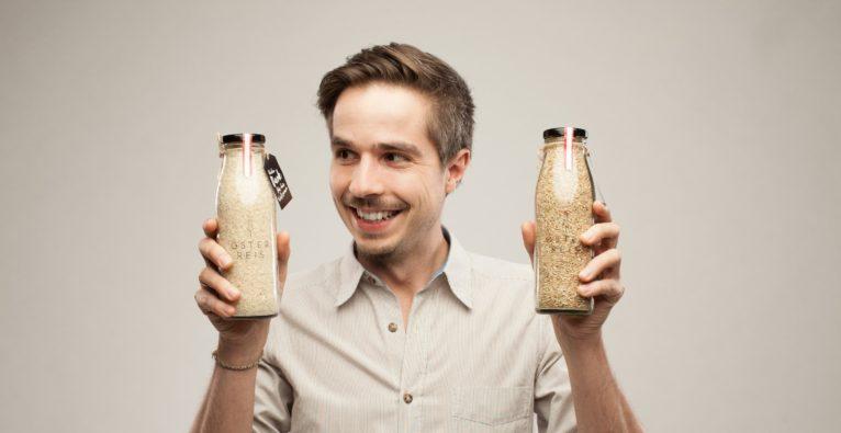 Österreis: Gründer Gregor Neumeyer ist im Vollzeit-Beruf Head of Digital Delivery der Uniqa, daneben baut er im Marchfeld Reis an